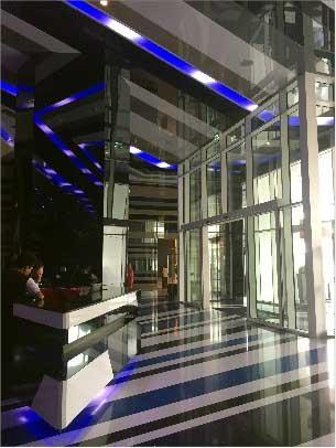 Le W, lobby, Dubai