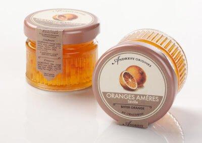 Confitures d'agrumes aux oranges amères