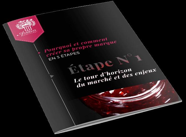 Créer sa marque, Etape 1 - eBook Andrésy Confitures