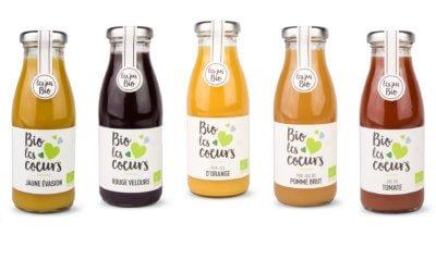 Andrésy Confitures partenaire de BISSARDON et sa marque BIO les COEURS, jus de fruits et nectars Bio pour les petits-déjeuners haut de gamme.