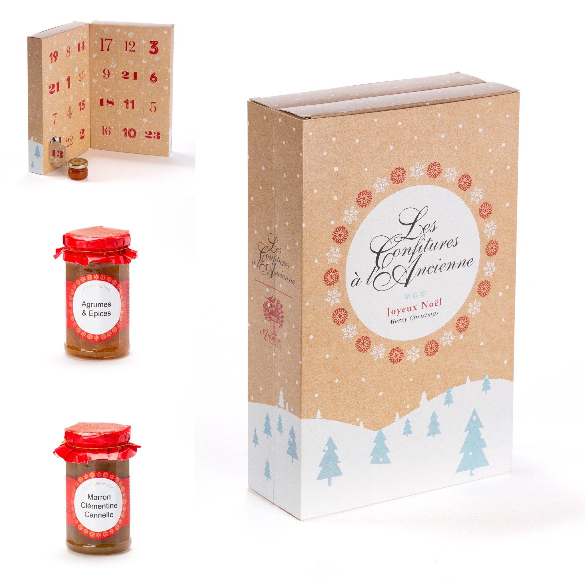 Recettes de Noël : confiture, marmelade et calendrier de l'Avent par Andrésy Confitures