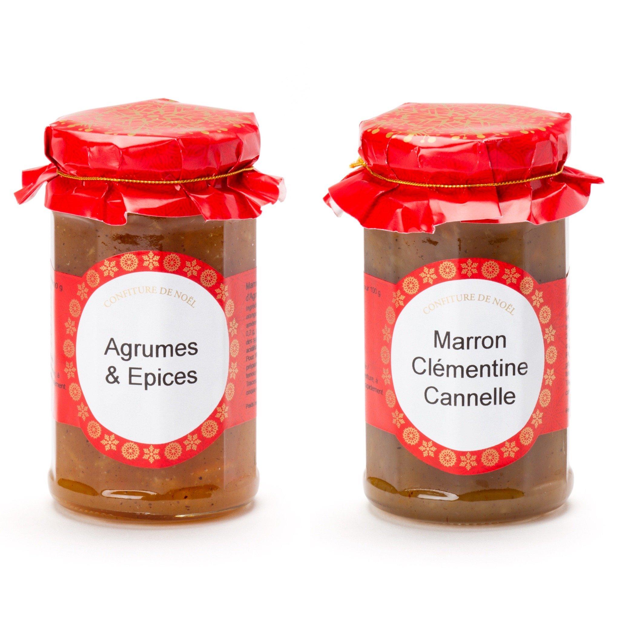 Marmelade et confiture pour NOël par Andrésy Confitures